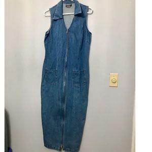 Ladies Vintage Denim Dress